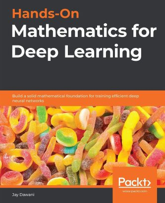hands-on mathematics for deep learning book cover