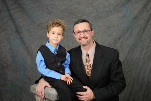 Daddy & Aaron