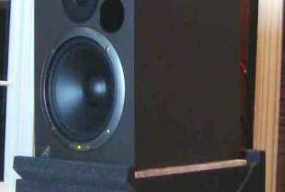 Speaker on the MOFO Risers