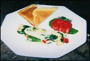 Turkey Spinach Omelet Recipe