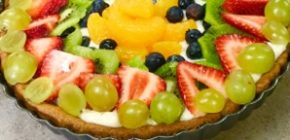 The Best Fruit Pizza Recipe Made From