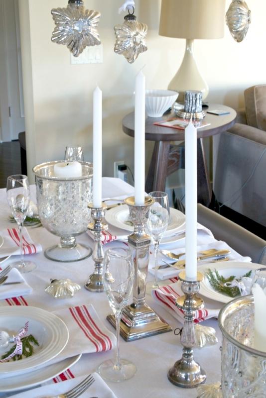 A Scandinavian Christmas Tablescape  Just a Smidgen