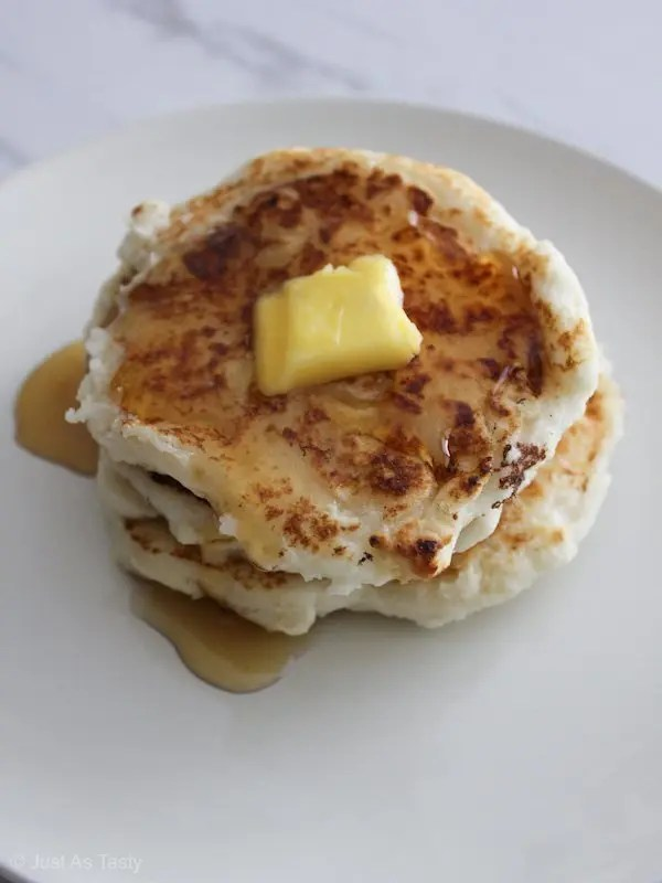 Pancakes From Scratch – Gluten Free, Eggless