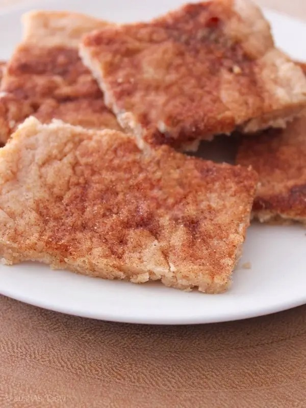 Snickerdoodle Bars – Gluten Free, Eggless