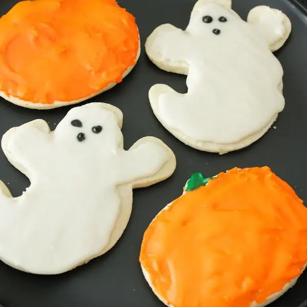Halloween Sugar Cookies – Gluten Free, Eggless