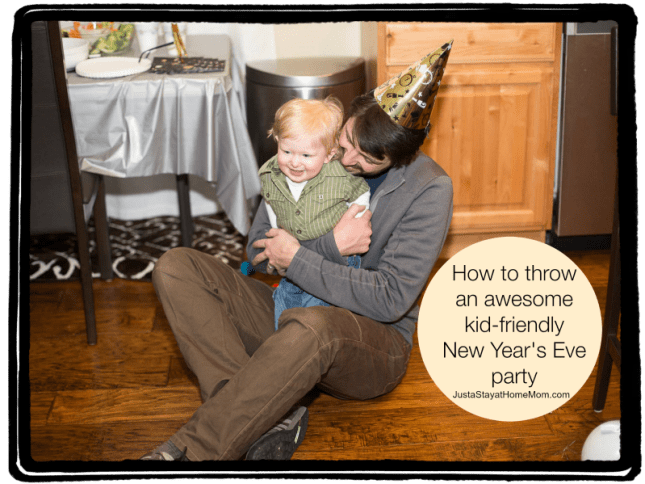 kid-friendly NYE party
