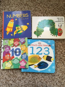 Number books