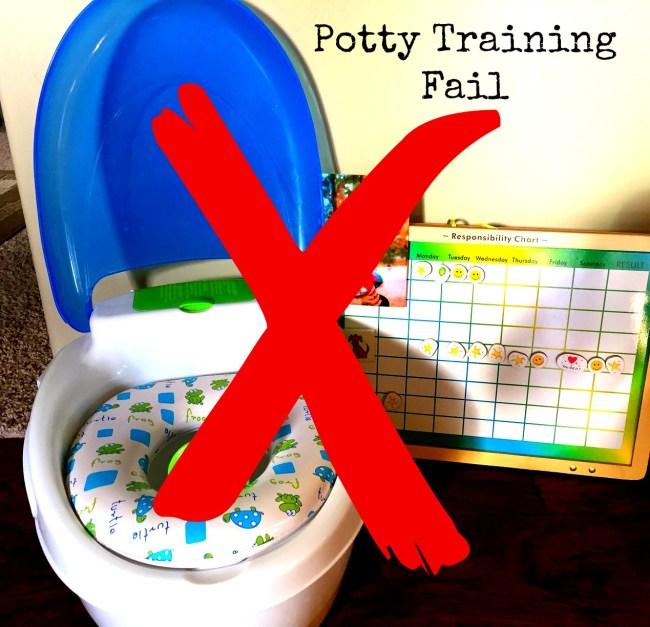 potty Training.fail