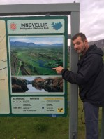 We are here - at Thingvellir!