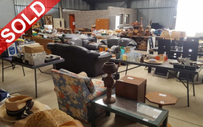 SELECTION OF HOUSEHOLD FURNITURE, APPLIANCES, MOTOR VEHICLES, LDV'S, ETC…