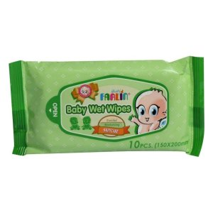 Farlin Skin Care Baby Wet Wipes 10pcs Travel Pack