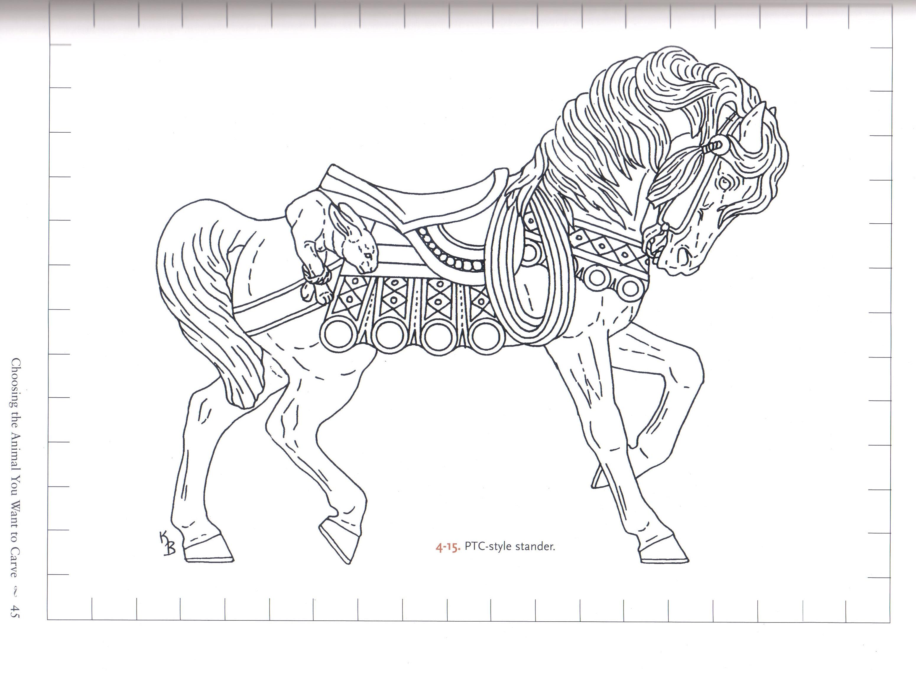 "Part 2: Custom Fabric Aspirations: ""Carousel Horse Designs"