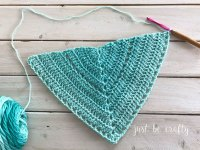 Crochet Triangle Shawl Pattern - Free Crochet Pattern by ...