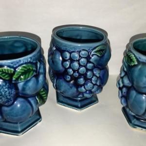 Blue Coffee Cups