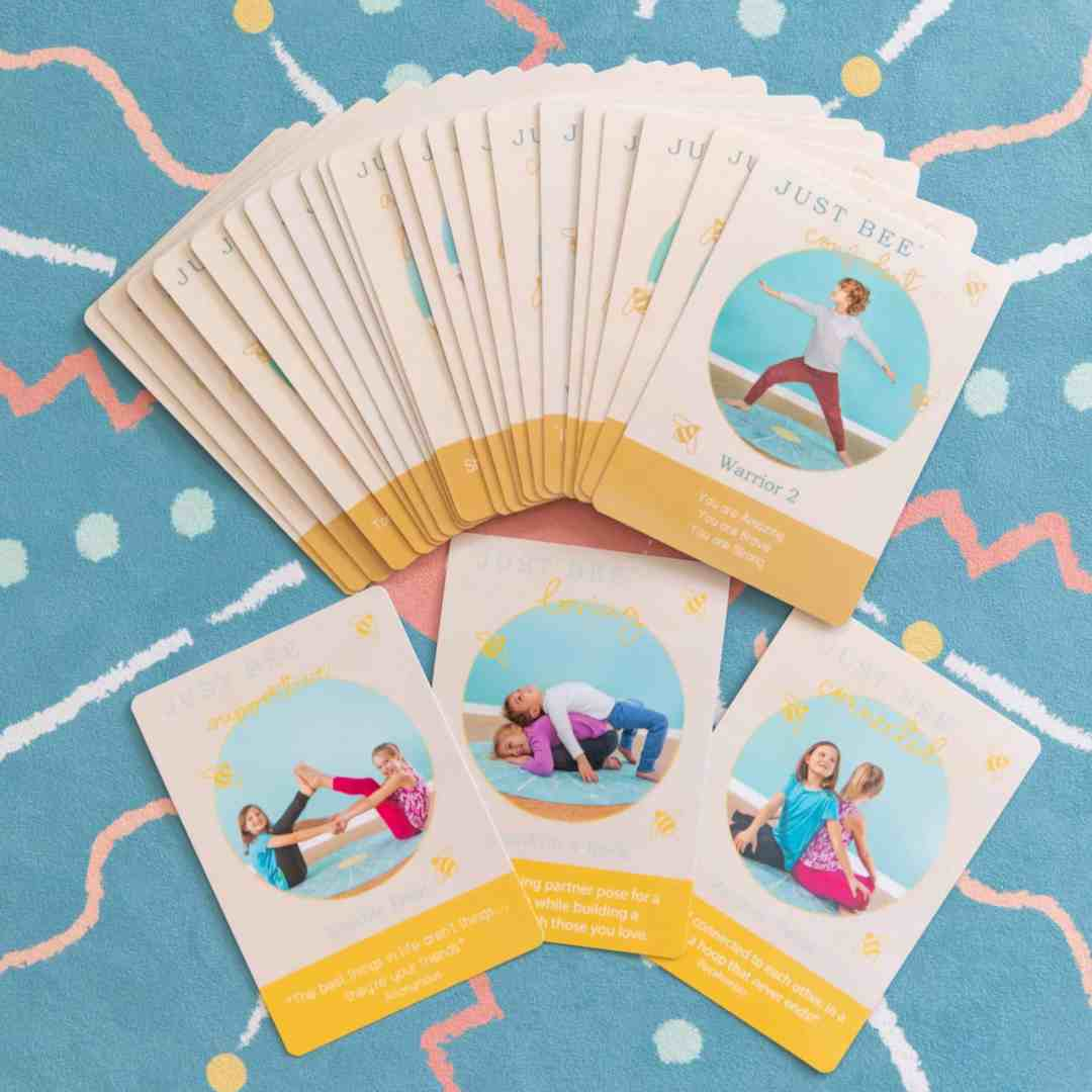 Just Bee Yoga Cards/Just Bee Yoga + Well-being