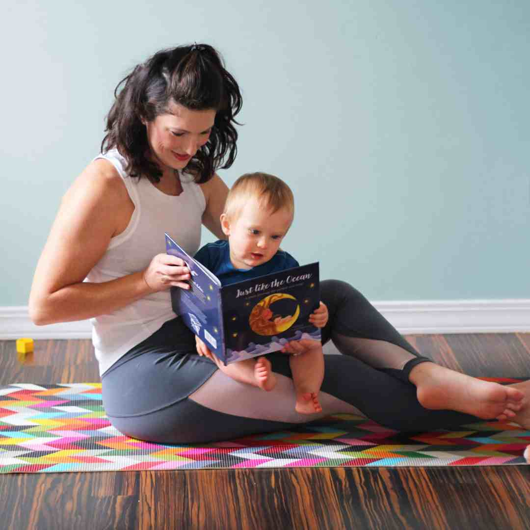 Just Like the Ocean, a yoga journey for parent and baby