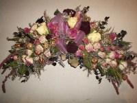 Dried Flower Arrangements For Fireplace | Garden Design Ideas