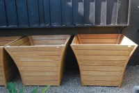 Large Wooden Planter Box Plans   Garden Design Ideas