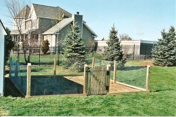 Wire Garden Fence Design Ideas