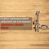 12 Best Handheld Bidet Sprayers on the Market (Reviews & Buying Guide)