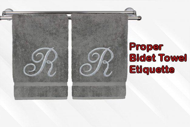 Proper Bidet Towel Etiquette
