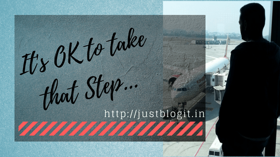 It's OK to take that Step