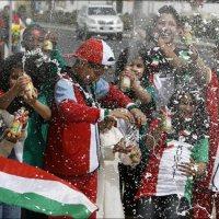 Only in Kuwait : National Water Gun Spraying Day
