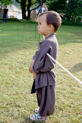 A very serious Monk!