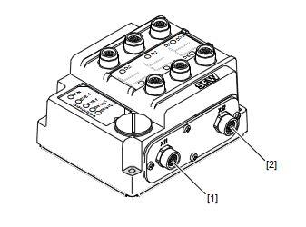 Profinet mit M12-Stecker verdrahten (auf Kodierung des