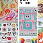 Animal Granny Squares Perfect For Crochet Baby Blankets