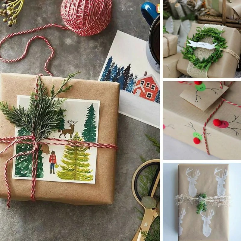 26 unique gift wrap