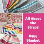 Stripe Crochet Baby Blanket Patterns To Add A Pop Of Color