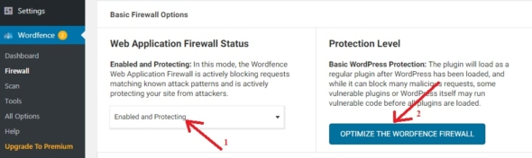 how to configure wordfence security plugin for wordpress