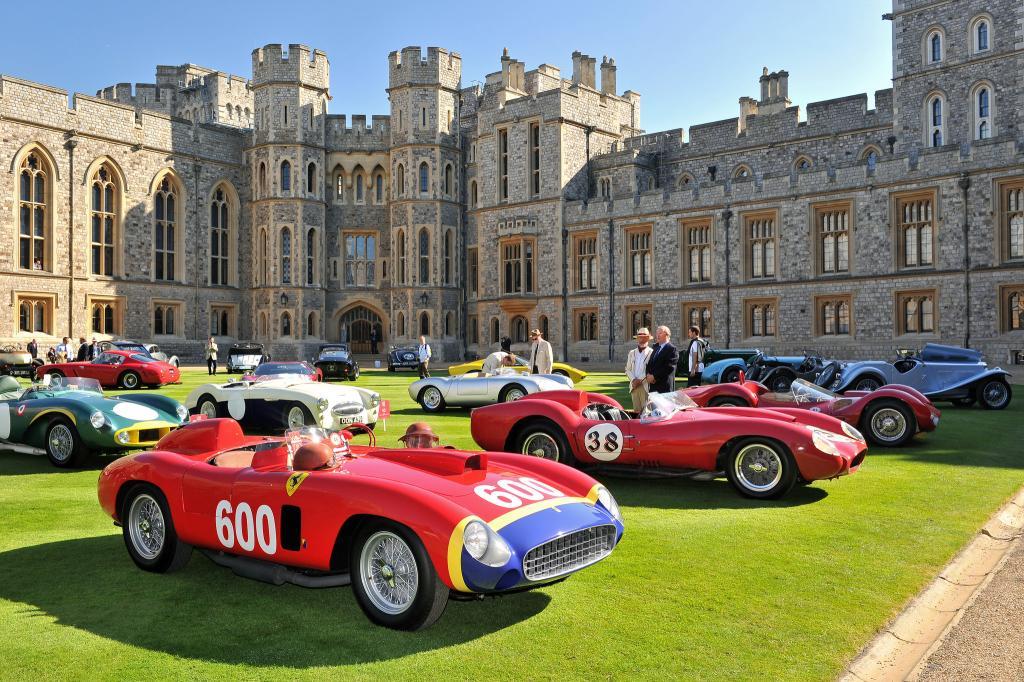 Windsor Castle Concours Of Elegance 2016  Just British
