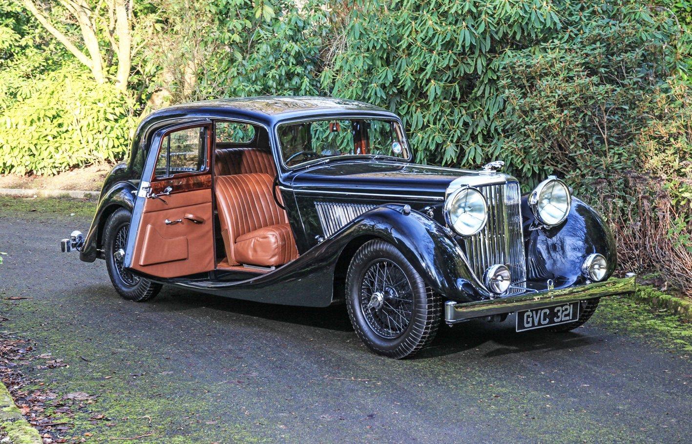 Classic 1948 Jaguar Owned By Deputy Chairman Of Jaguar