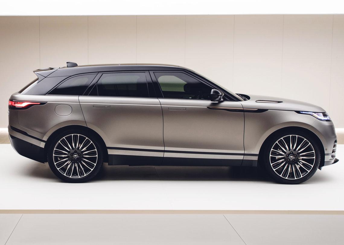 Land Rovers New Range Rover Velar Unveiled Just British