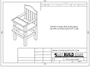 wooden chair plans pdf