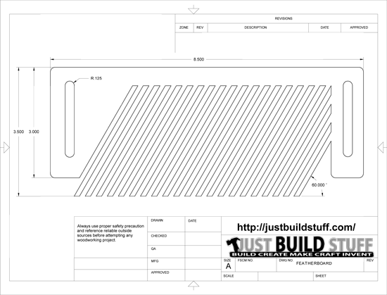 Featherboard Pattern : justbuildstuff.com