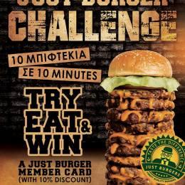 Ultimate Just Burger Challenge