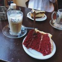 Red Velvet & Chocolate Swirl Cheesecake