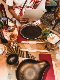 Onze tafel + cocktails