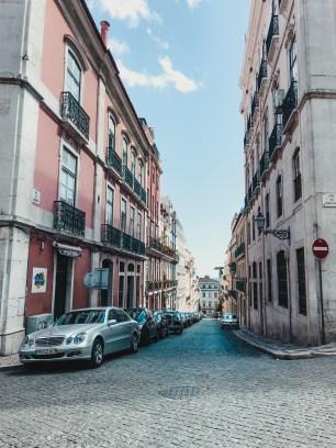 Straatje in de Bairro Alto