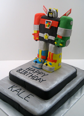 voltron  Just Cake