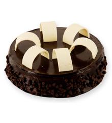 chocolcate truffle cake