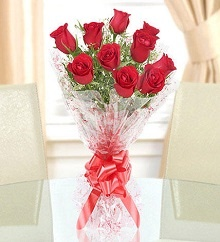 7 Red Roses Flower Bouquet in Pune Designs, Images, Price