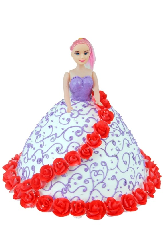 Barbie Shape Cake