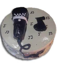 Mike Shaped Cake