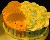 Mango Rasmalai Cake