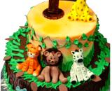 jungle theme cake in pune