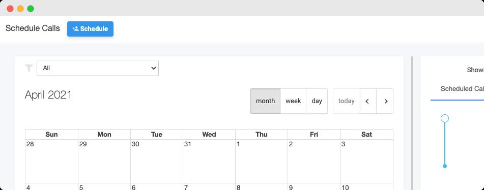 appointment-scheduler-scheduled calls